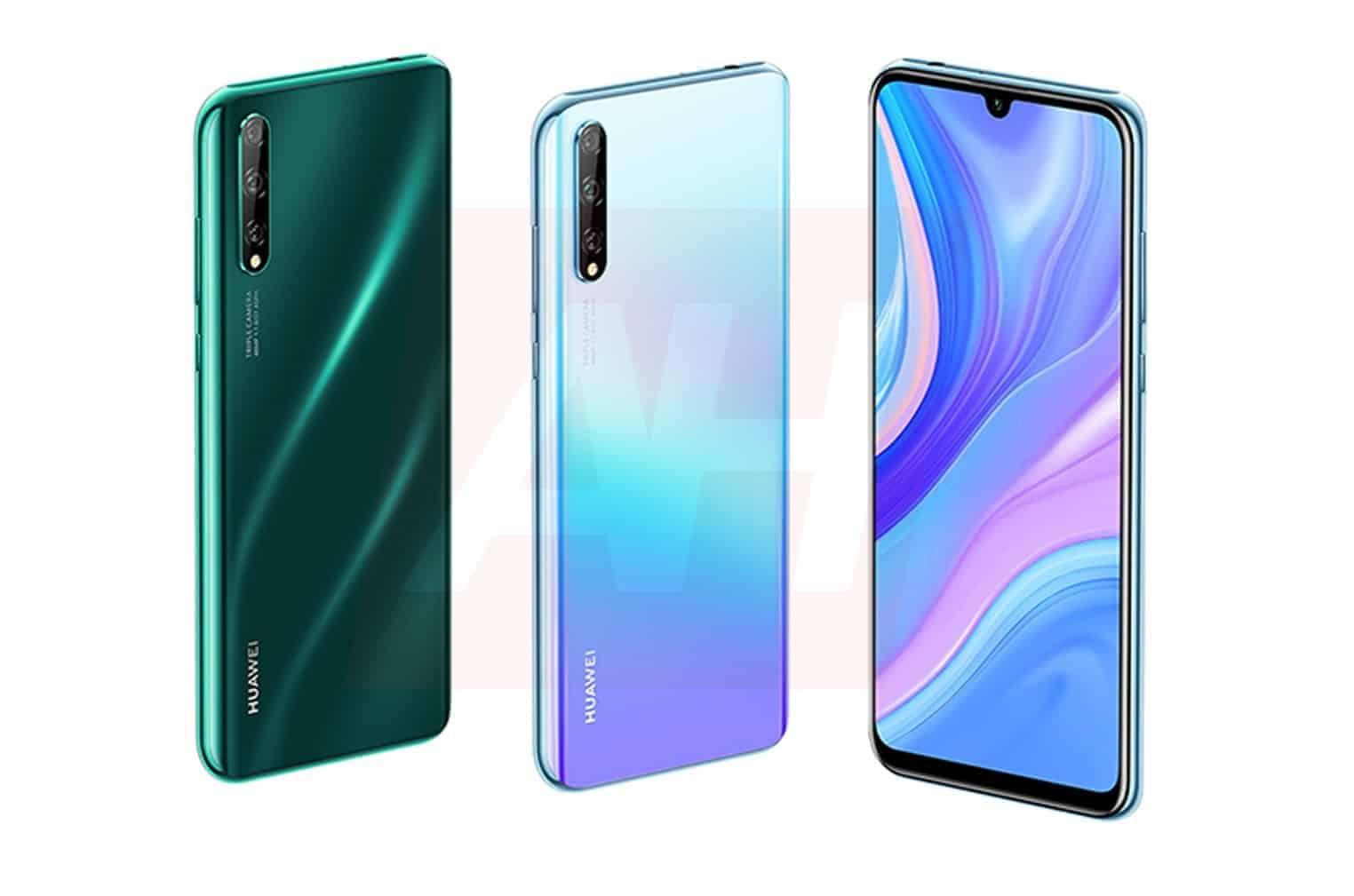 Huawei P Smart 2020 leak AH