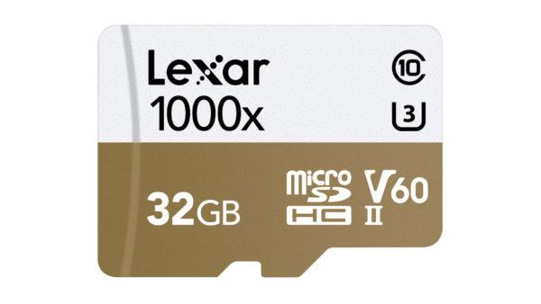 Lexar Professional 1000x microSD card image 2