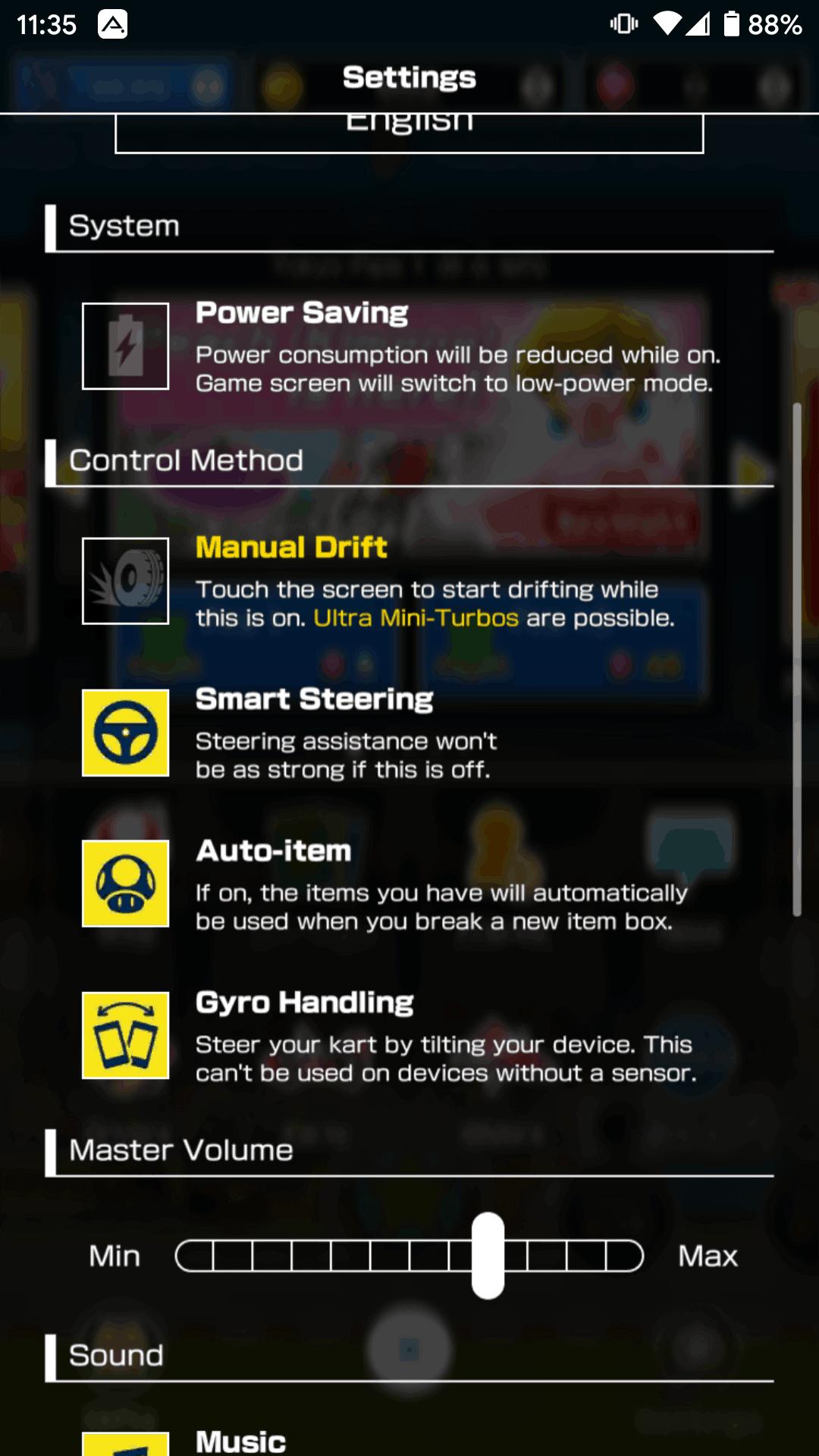 Mario Kart Tour Controls 4