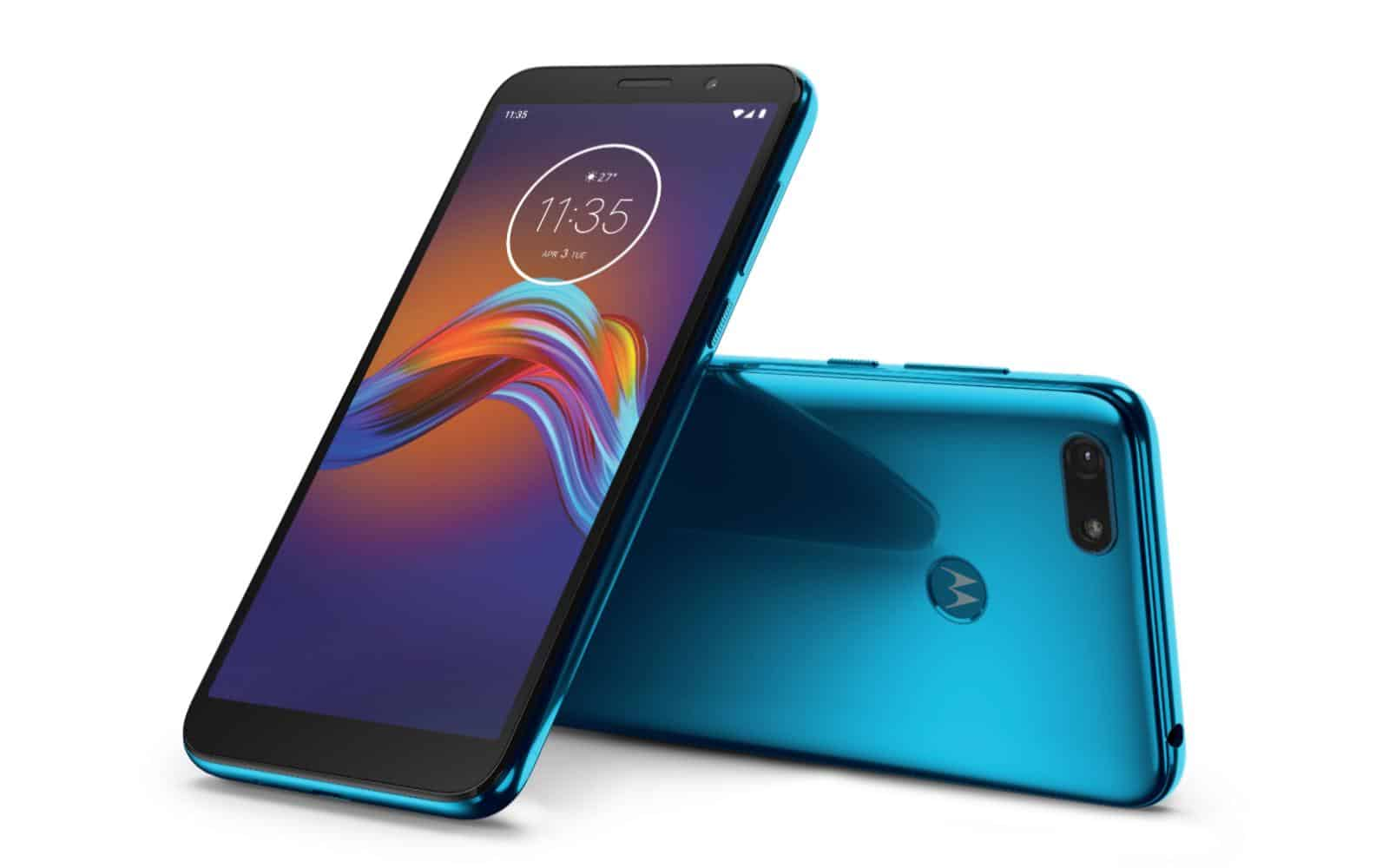 Moto E6 Play Tranquil Teal LAYDOWN COMBO