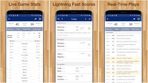 NBA Live Games Scores app image 1