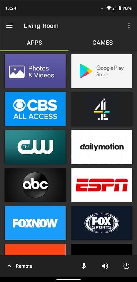 NVIDIA SHIELD TV App Update 06