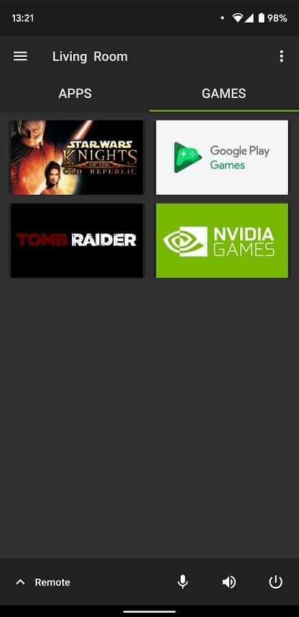 NVIDIA SHIELD TV App Update 08