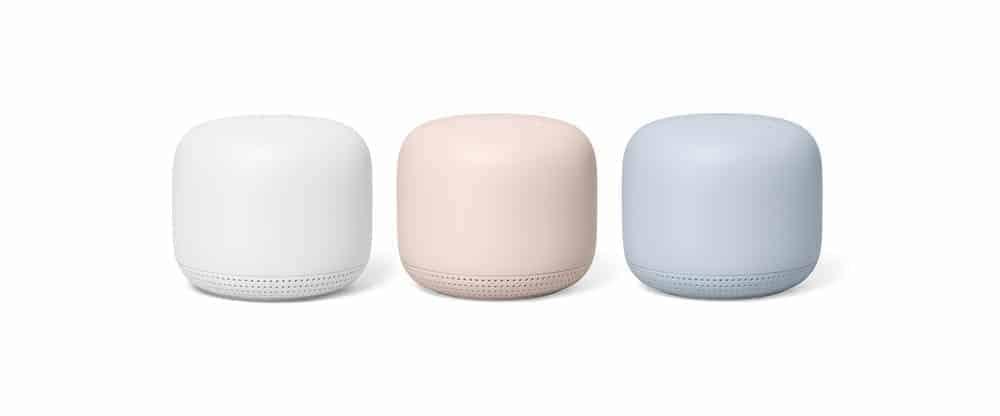 Nest Wifi colors