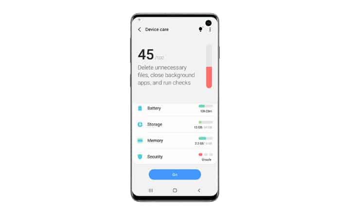 One UI Beta main6FIN Android 10 from Samsung