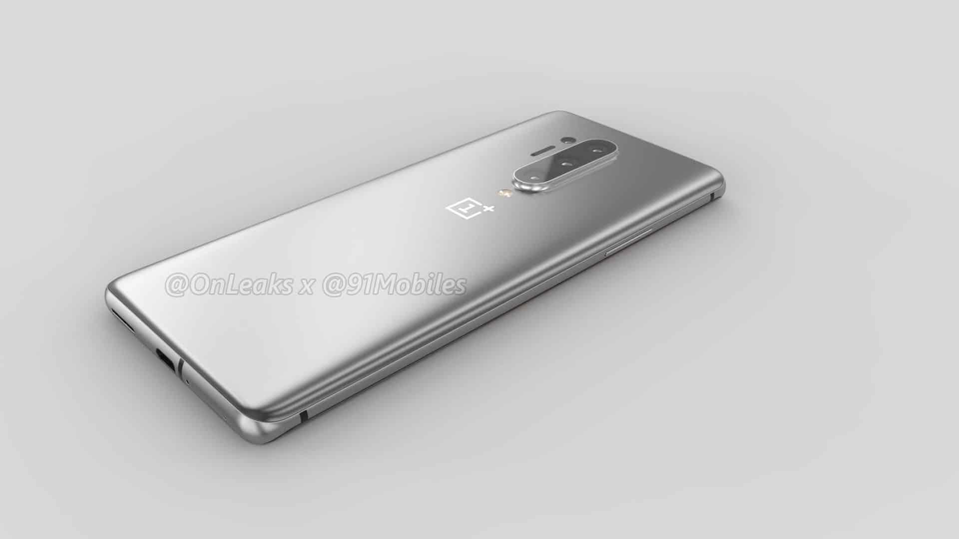 OnePlus 8 Pro renders leak OnLeaks 13