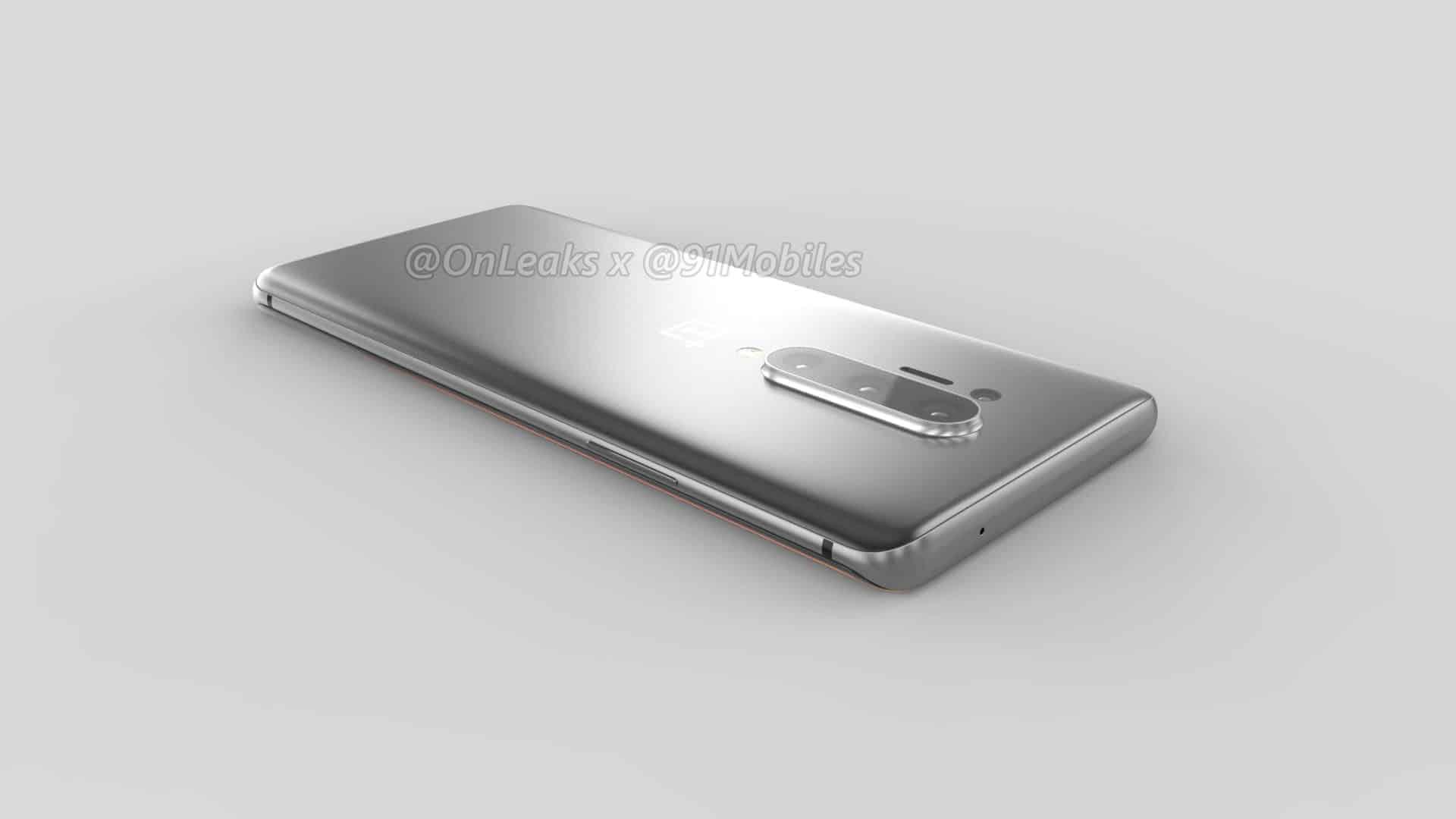 OnePlus 8 Pro renders leak OnLeaks 14