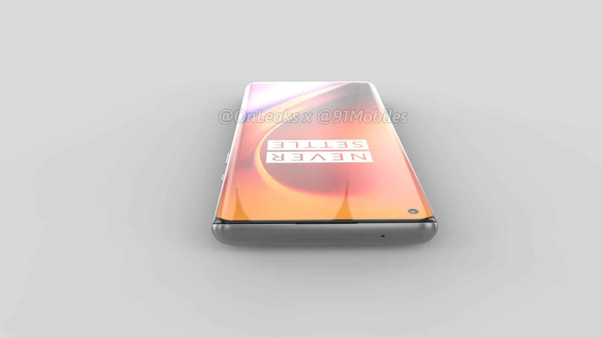 OnePlus 8 Pro renders leak OnLeaks 9