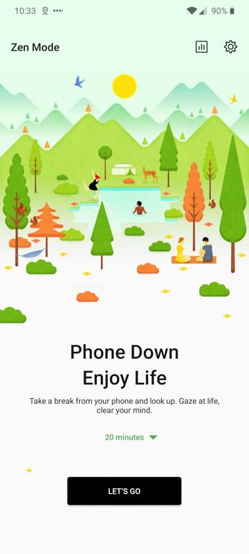 OnePlus Zen Mode Screens AH 1
