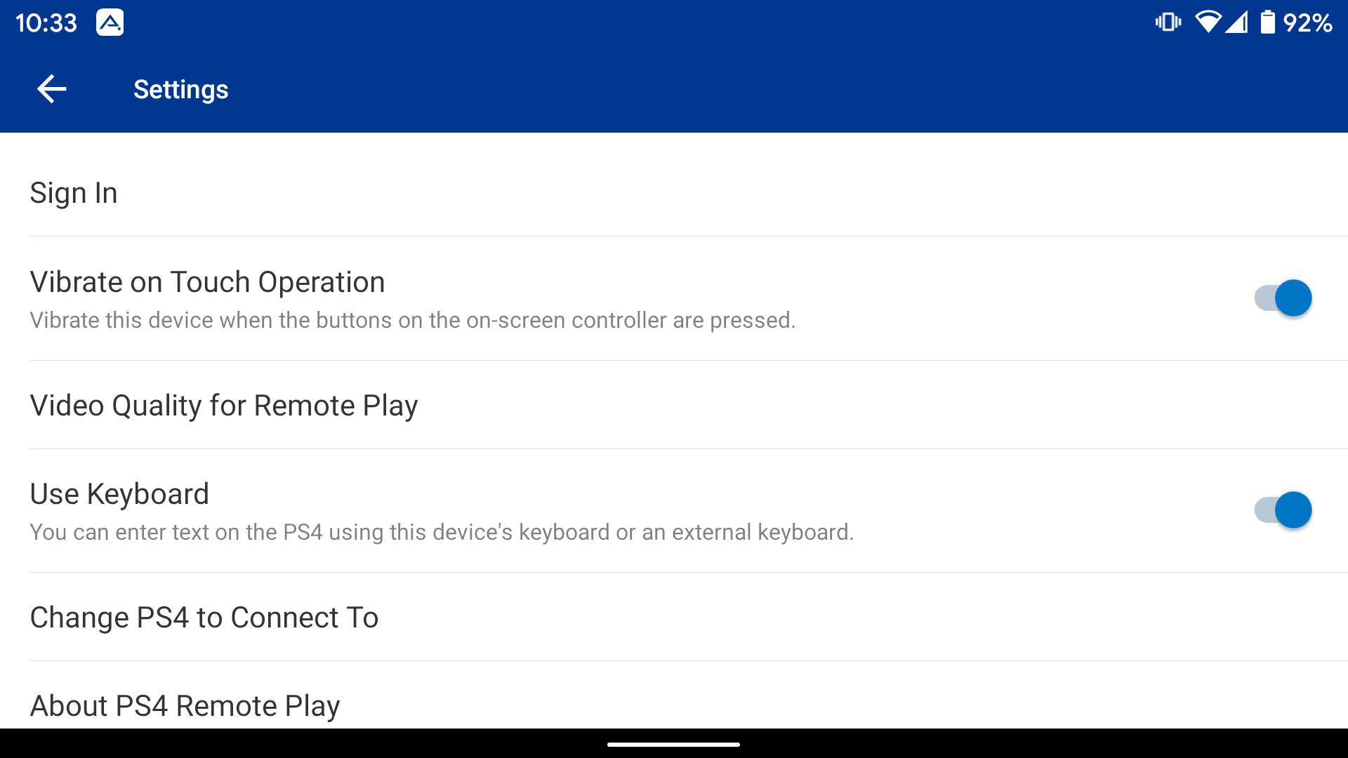 PS4 Remote Play App 5