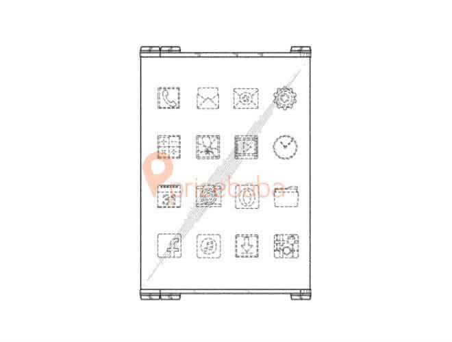 Samsung foldable hybrid patent 4
