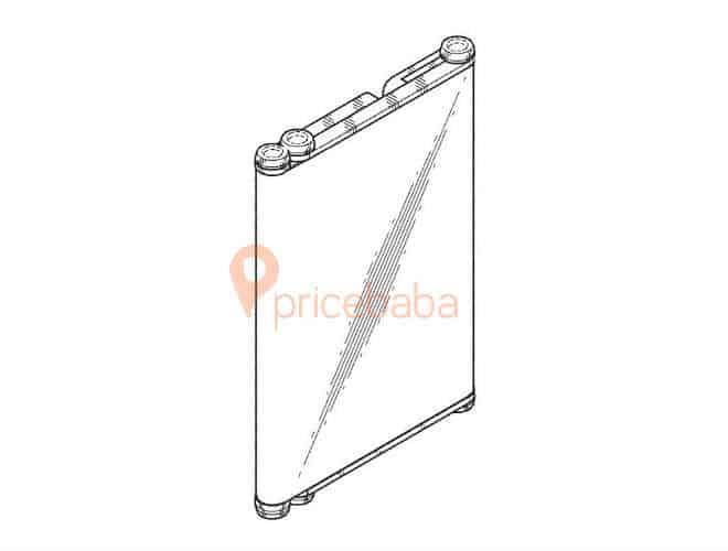 Samsung foldable hybrid patent 6