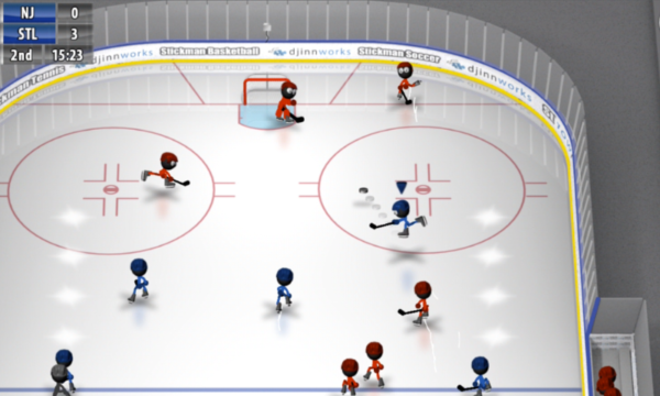 Stickman Ice Hockey app image October 2019