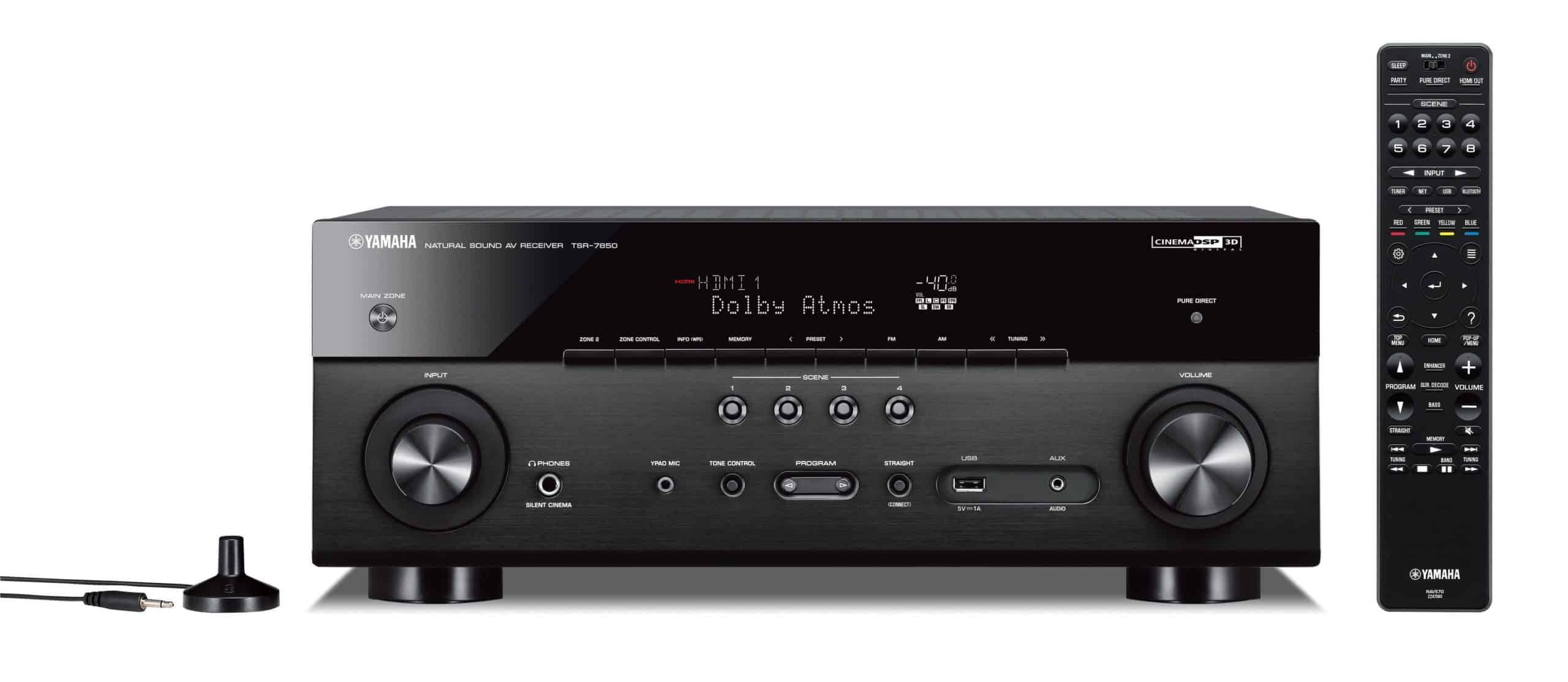 Yamaha TSR-7850R 7.2-Channel Network AV Receiver - Woot