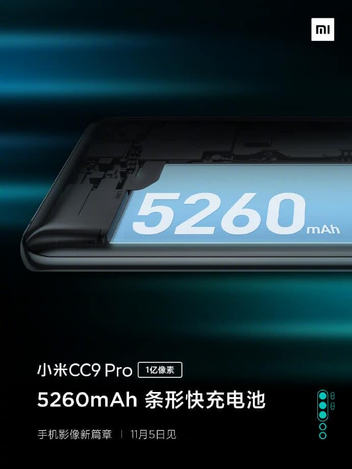 Xiaomi Mi CC9 Pro battery info image 1
