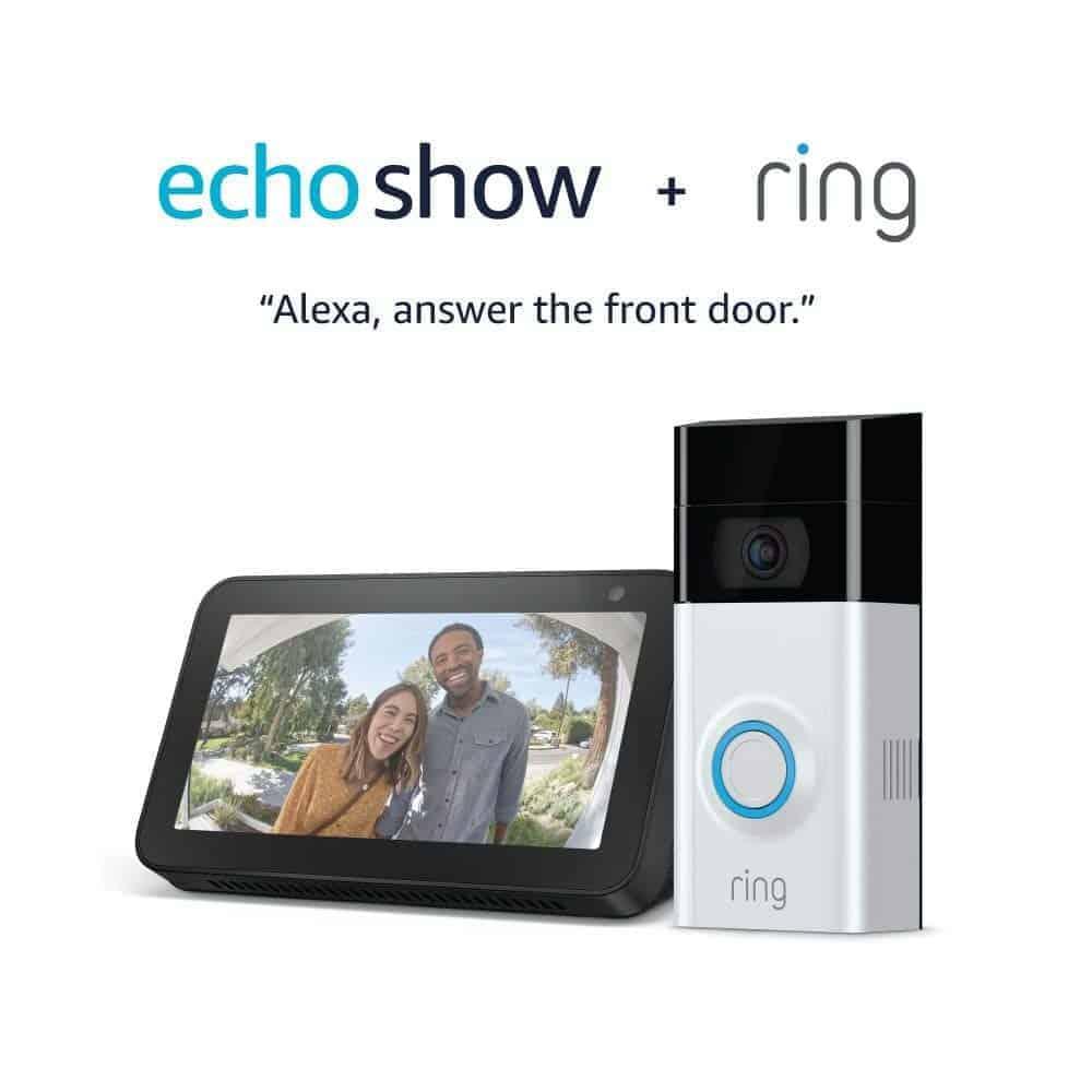Ring Video Doorbell 2 with Echo Show 5 - Amazon