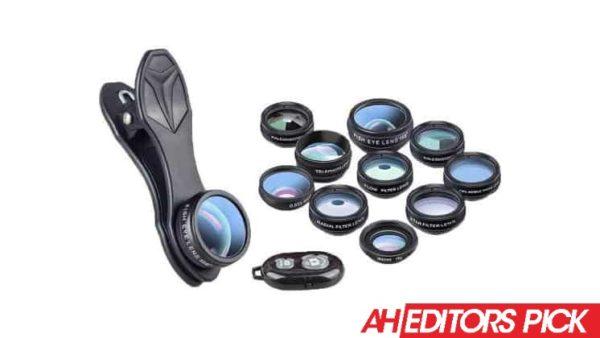 AH Editors Pick AVODA Pro 10 in 1 Camera Lens Kit