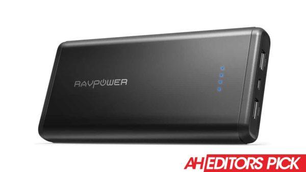 AH Editors Pick RAVPower 20000mAh