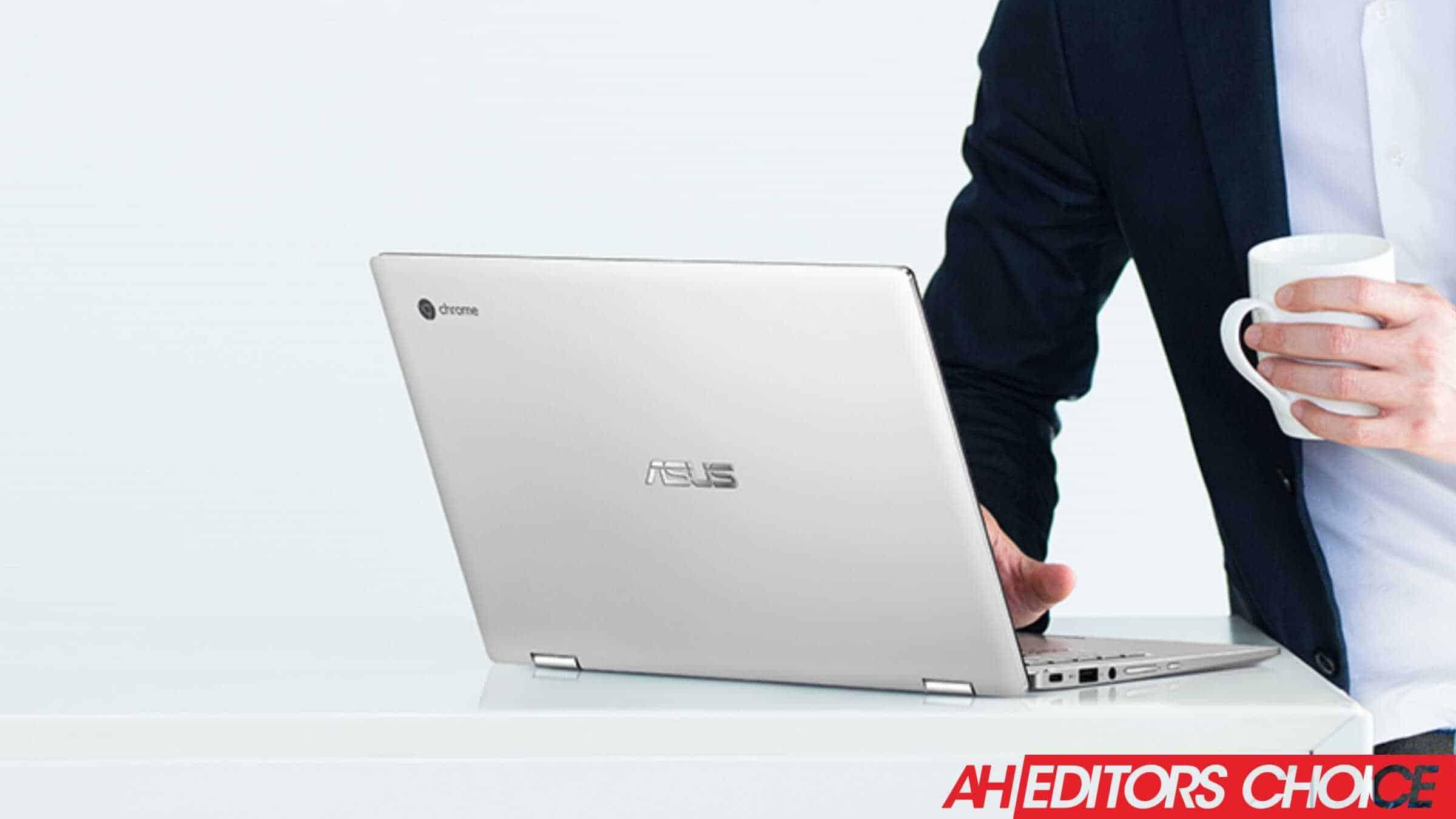 ASUS Chromebook Flip C434 press image resize gift guide
