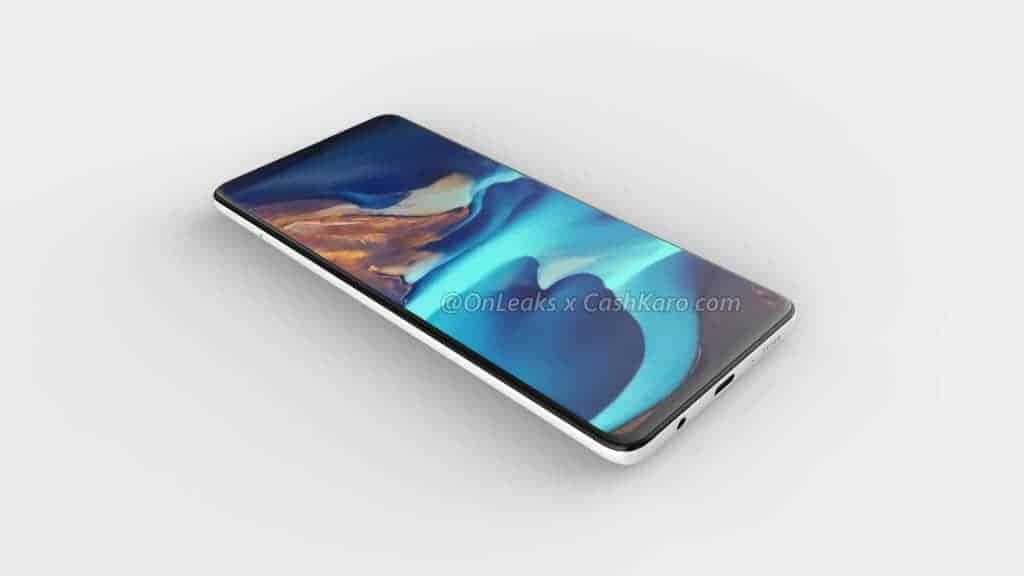 Galaxy A71 render leak 1
