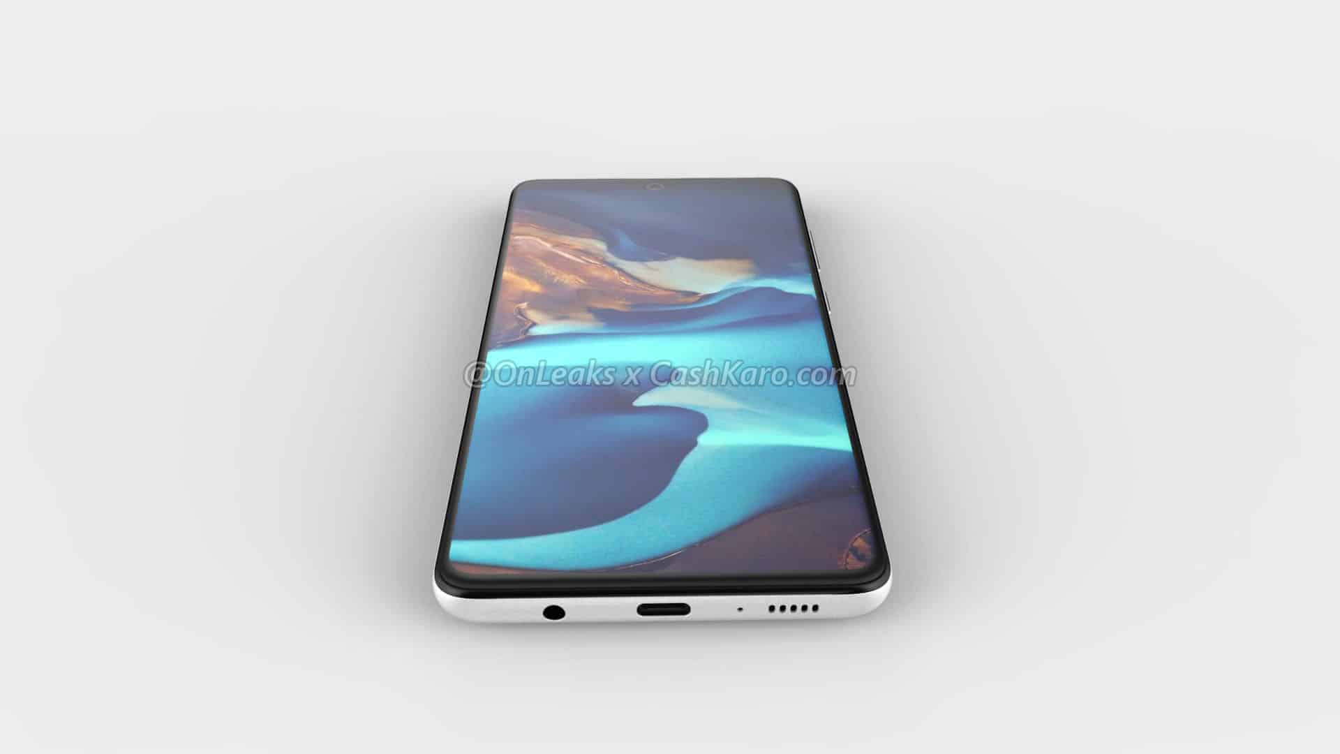 Galaxy A71 render leak 12
