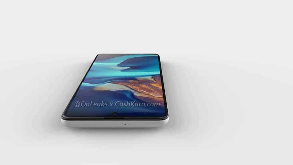 Galaxy A71 render leak 4