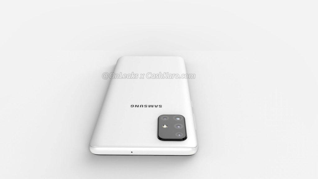 Galaxy A71 render leak 5