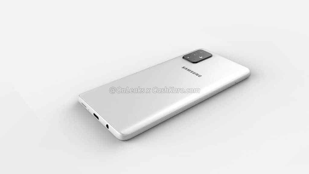 Galaxy A71 render leak 6