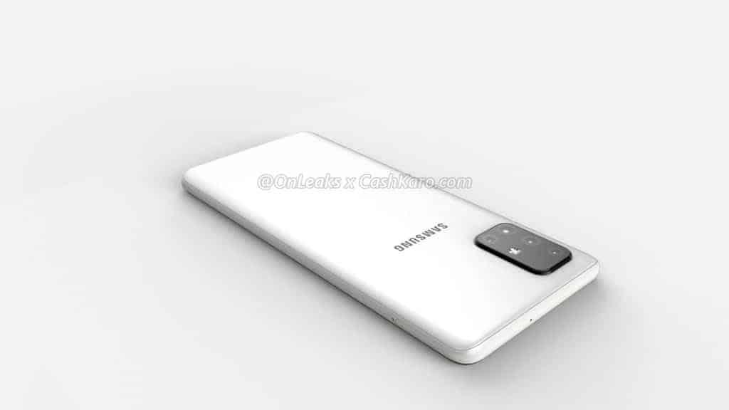 Galaxy A71 render leak 7