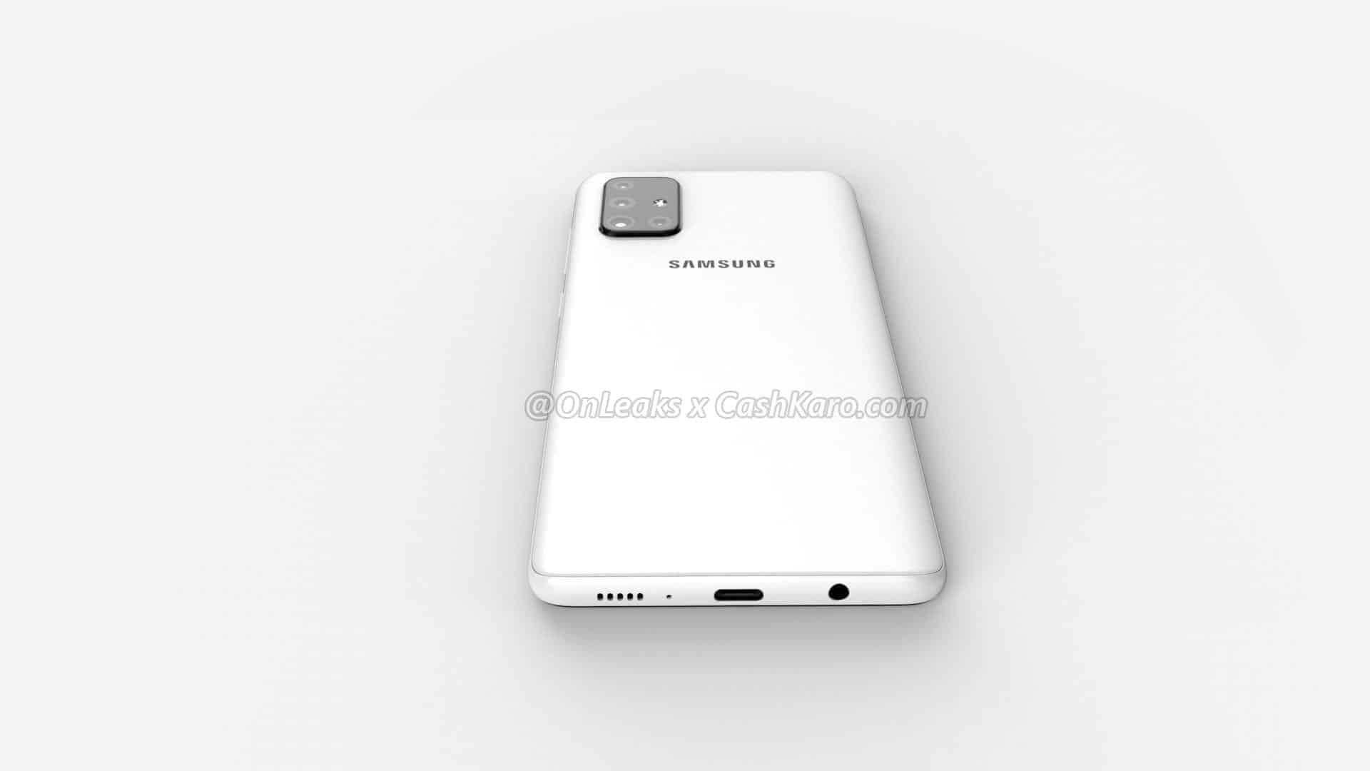 Galaxy A71 render leak 9