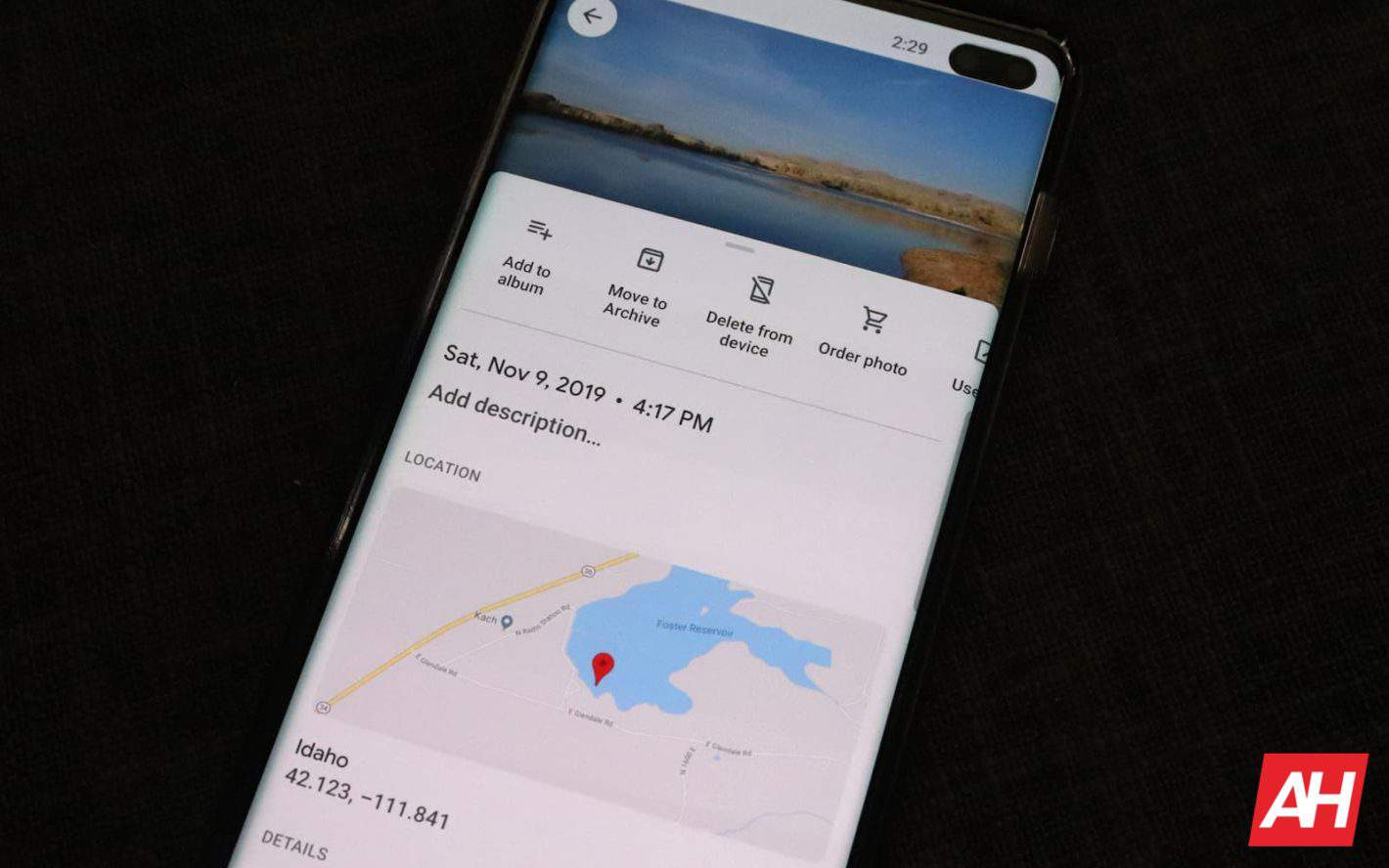 Google Photos Carousel Info Update AH 2019