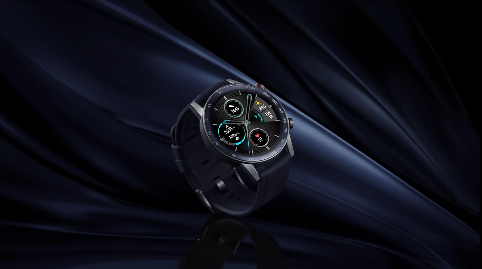 HONOR MagicWatch 2 Charcoal Black