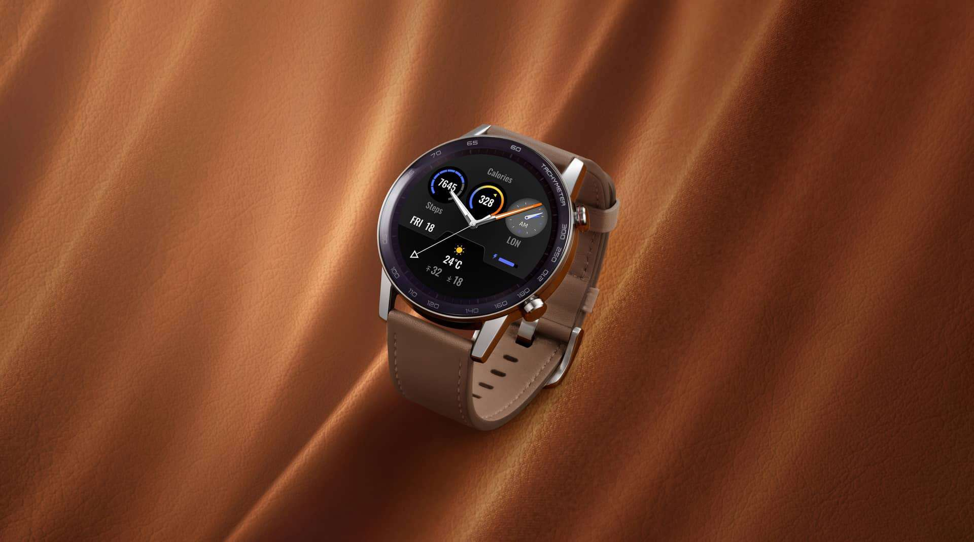 HONOR MagicWatch 2 Flax Brown