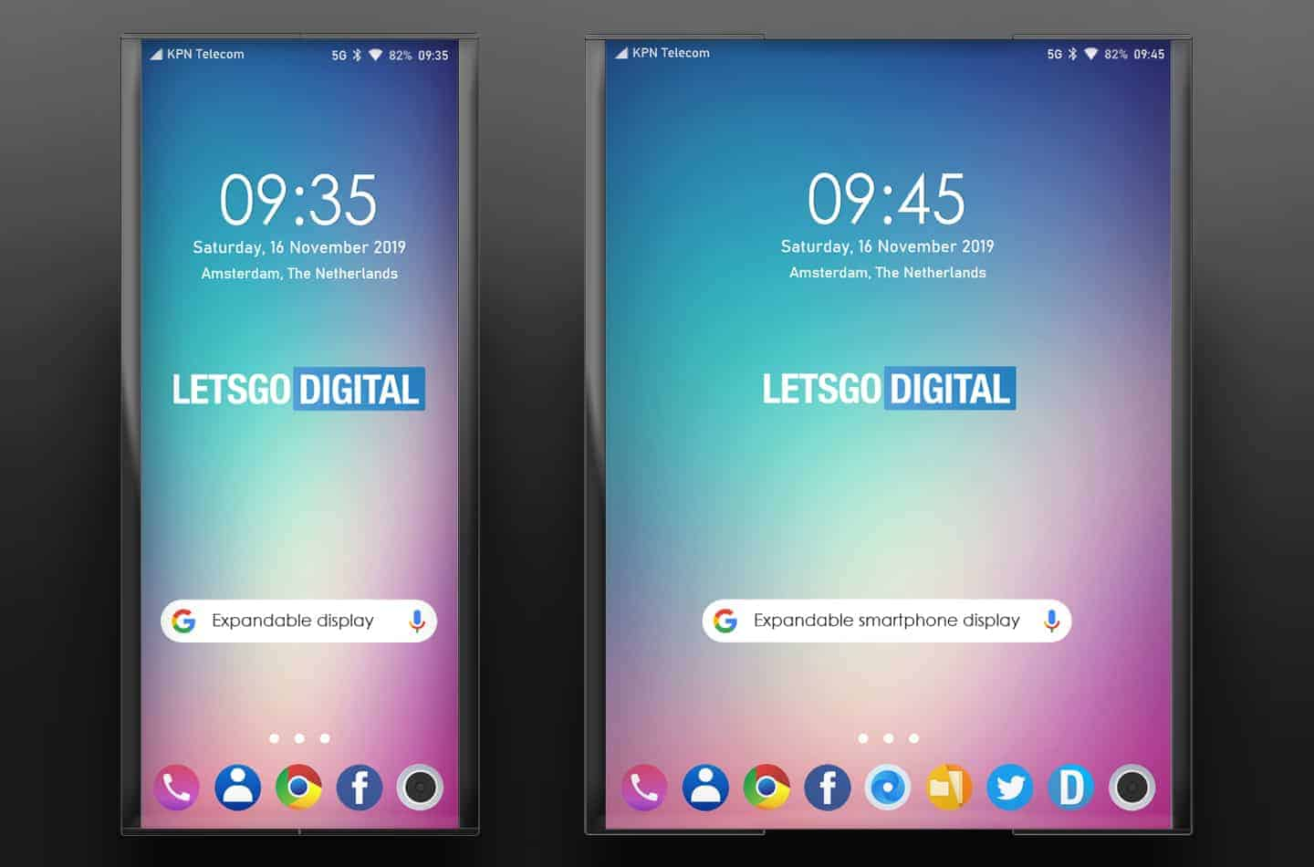LG extendable display patent November 2019 image 2