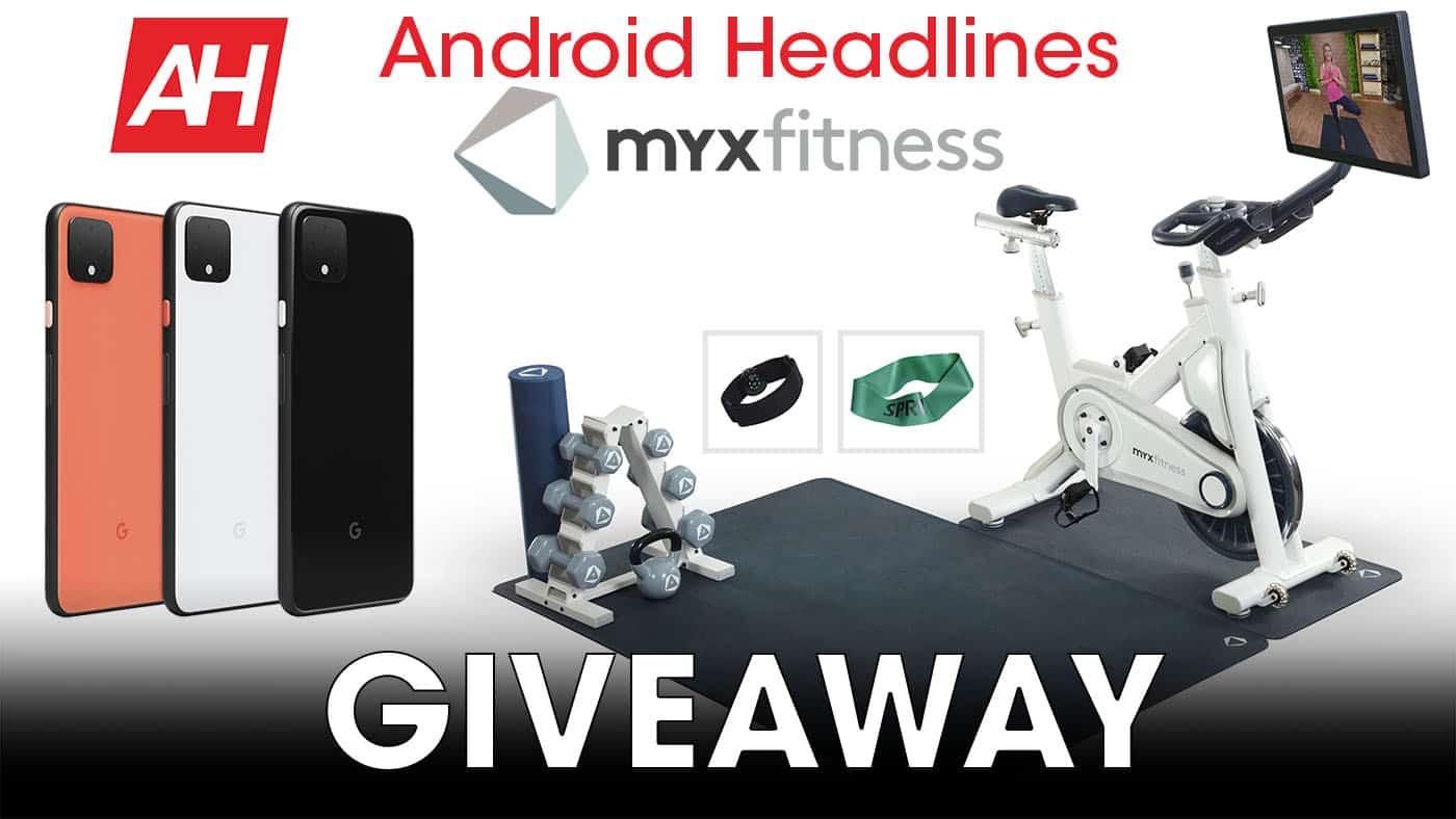 MYXfitness giveaway