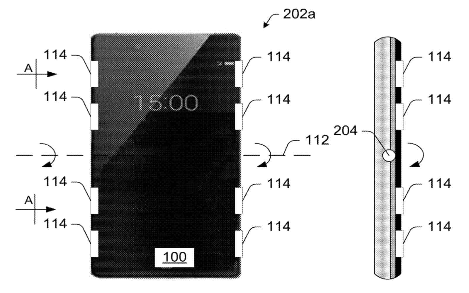 Motorola Razr 2 Patent Image Side Sensors img 01
