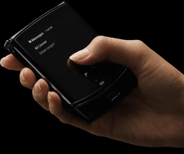 Motorola Razr foldable leak 2