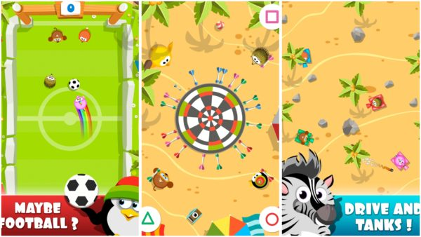 Party Games app collage