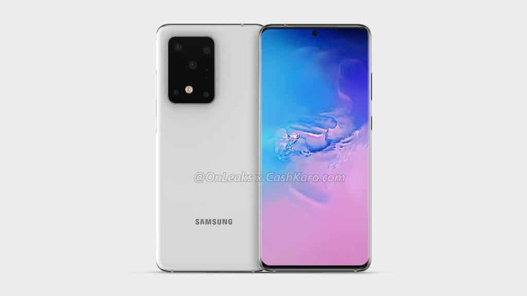 Samsung Galaxy S11 Plus render leak 1
