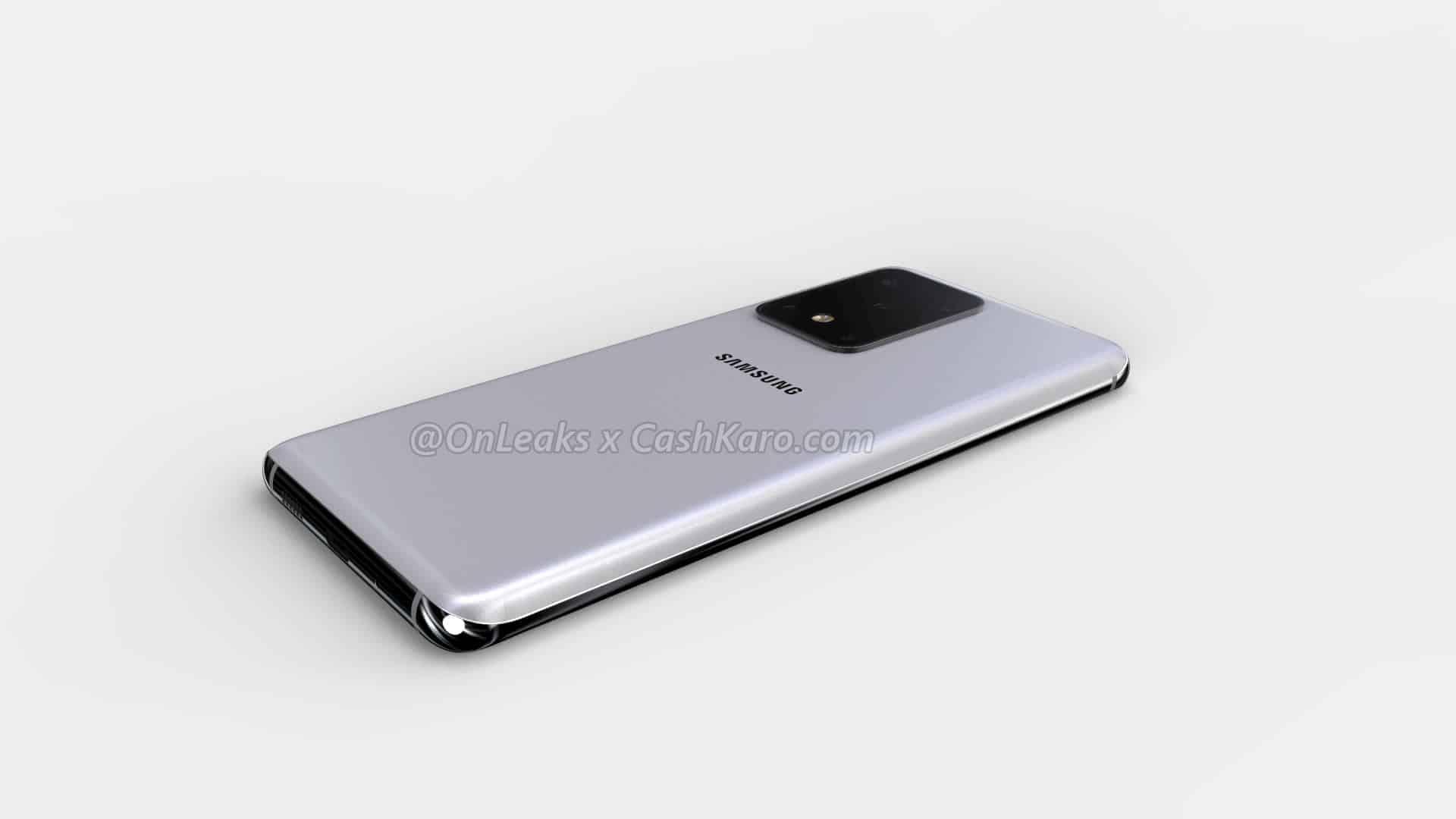 Samsung Galaxy S11 Plus render leak 11