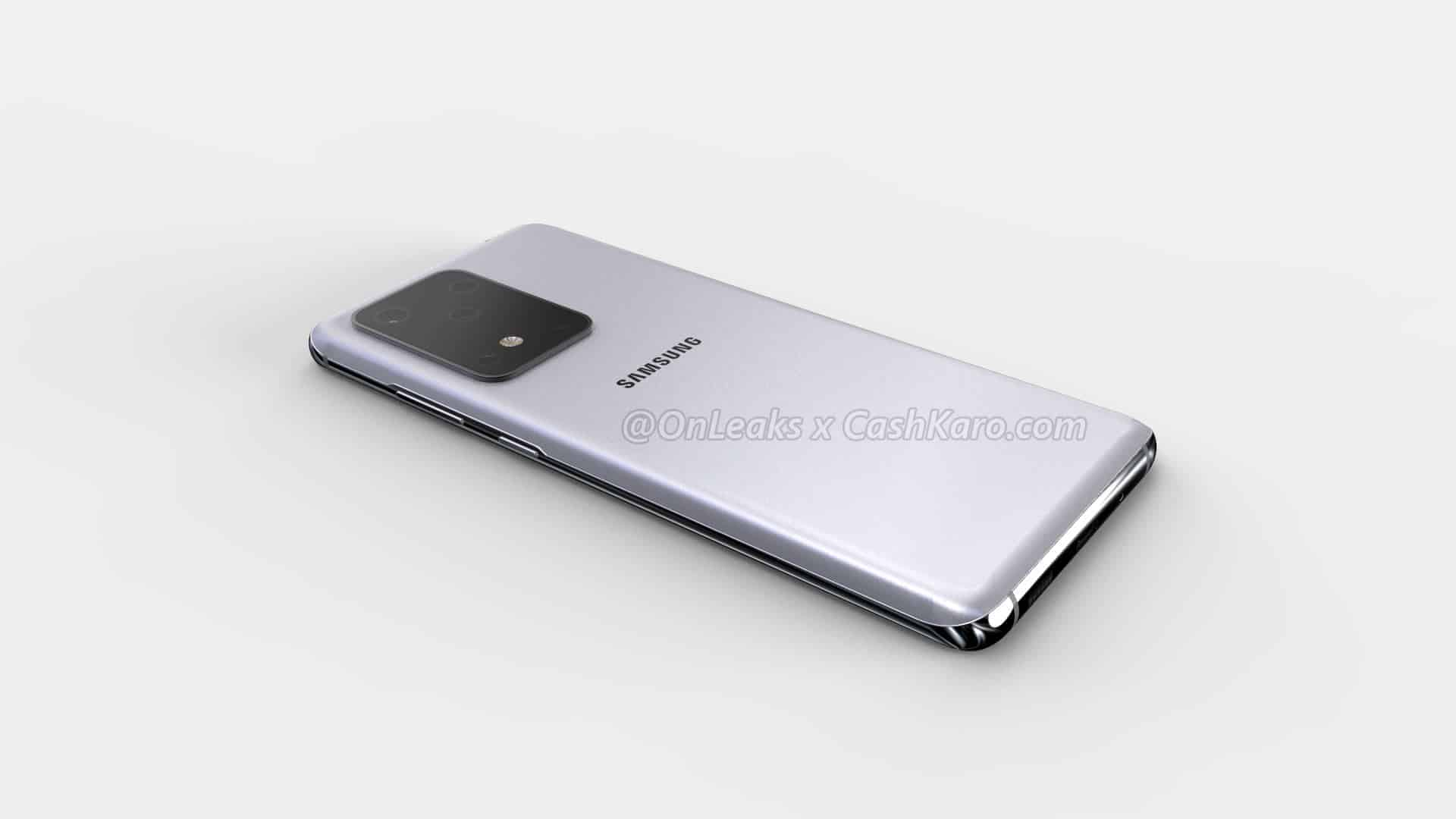 Samsung Galaxy S11 Plus render leak 12