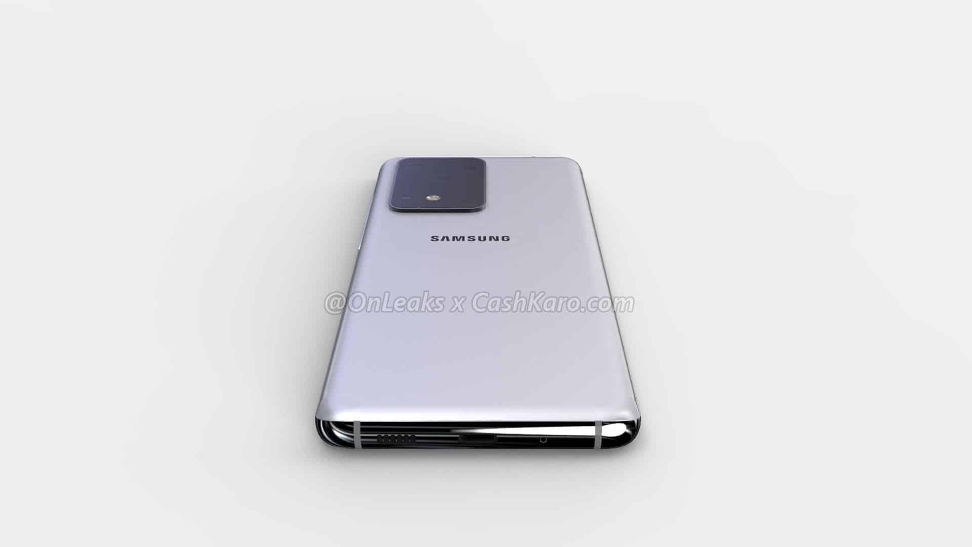 Samsung Galaxy S11 Plus render leak 13