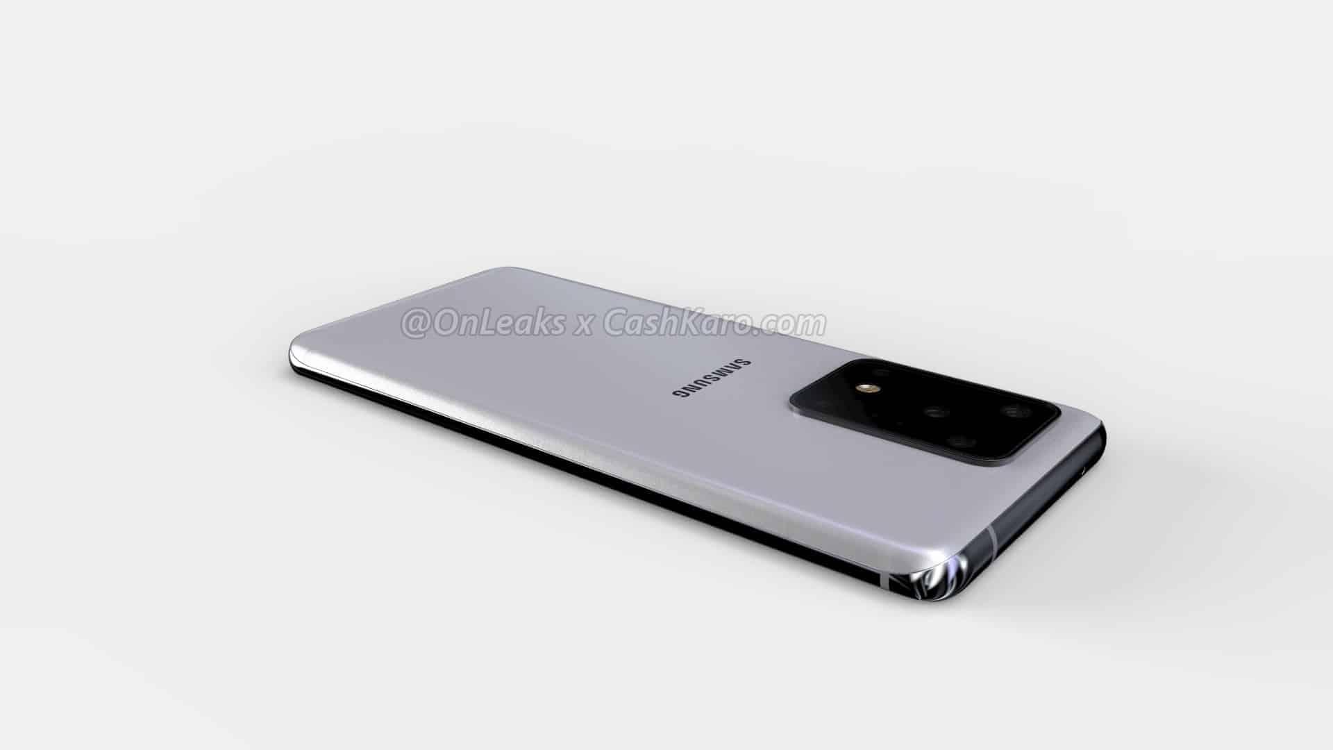 Samsung Galaxy S11 Plus render leak 14