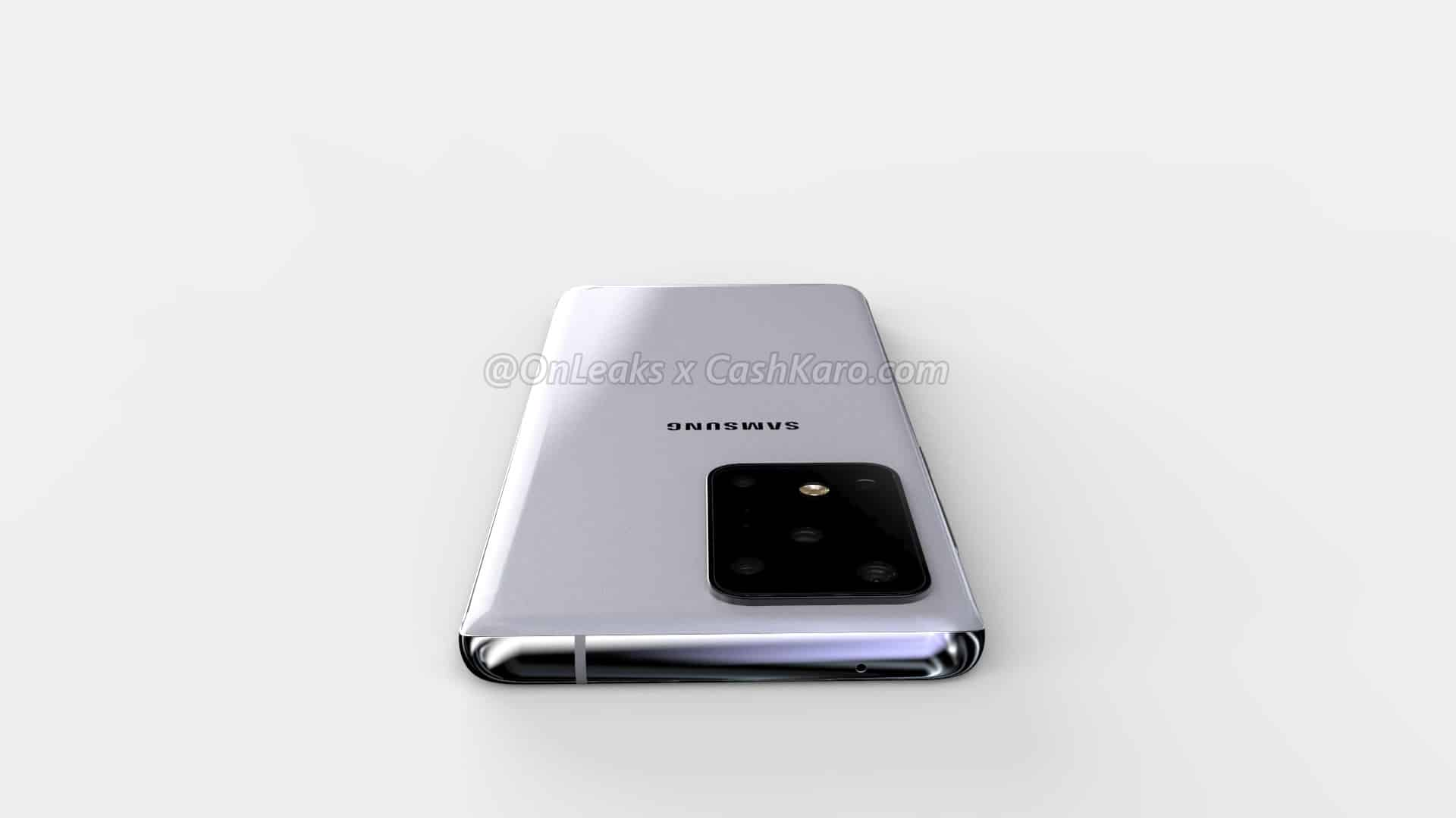 Samsung Galaxy S11 Plus render leak 15