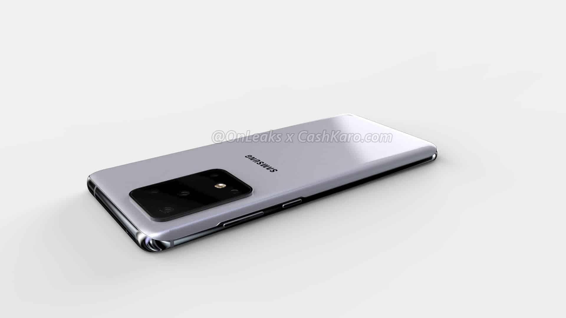 Samsung Galaxy S11 Plus render leak 16