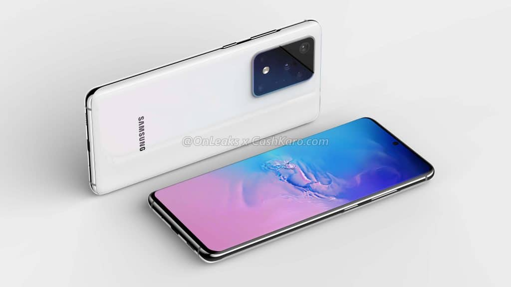 Samsung Galaxy S11 Plus render leak 2