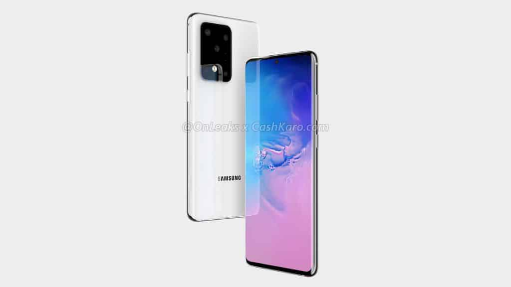 Samsung Galaxy S11 Plus render leak 3