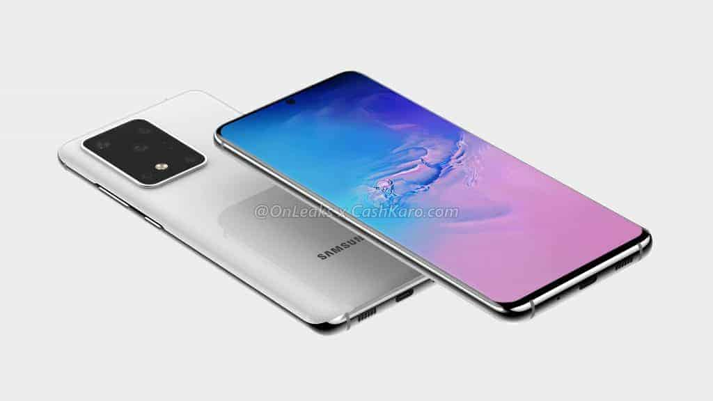 Samsung Galaxy S11 Plus render leak 4