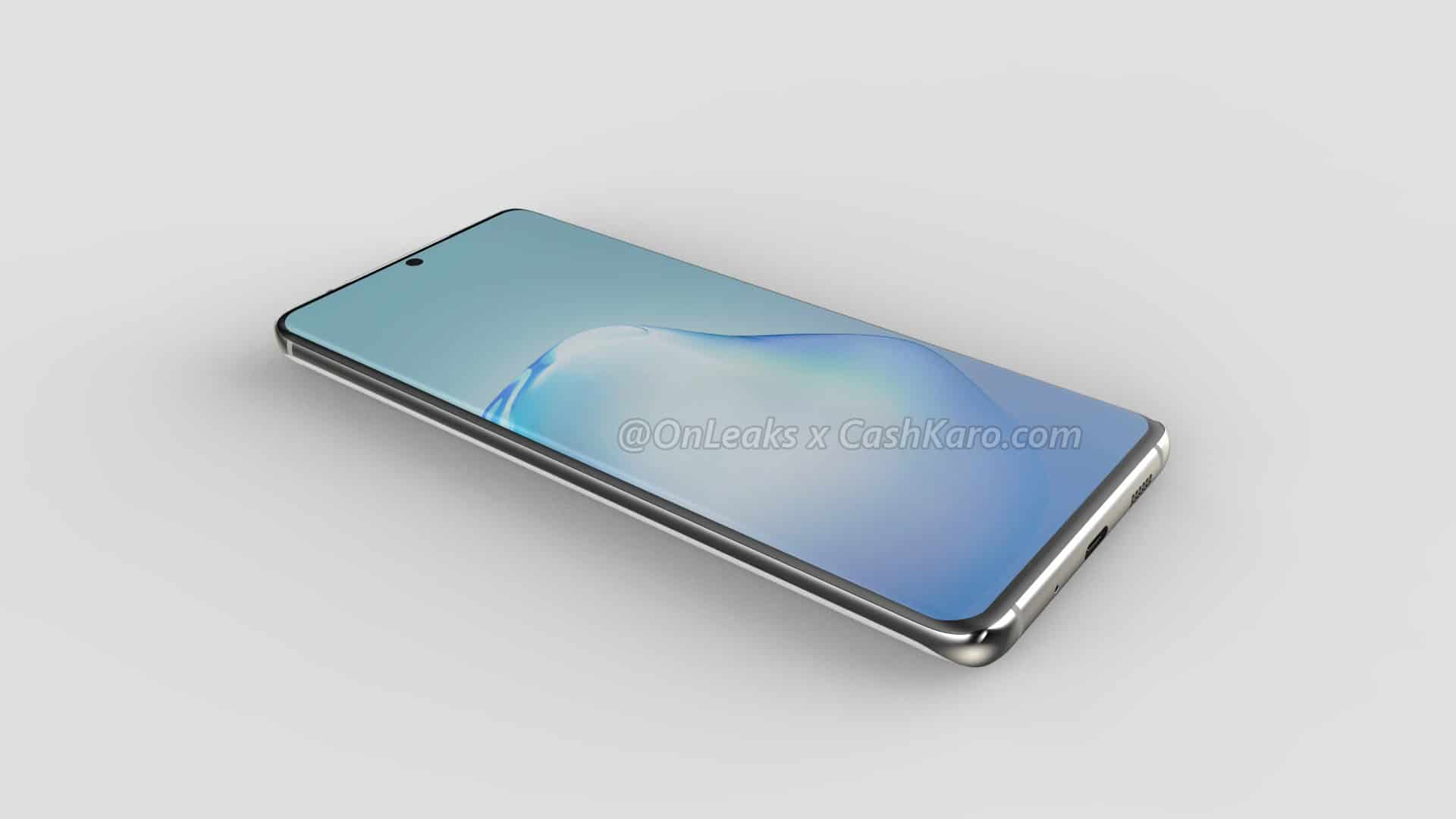 Samsung Galaxy S11 Plus render leak 5