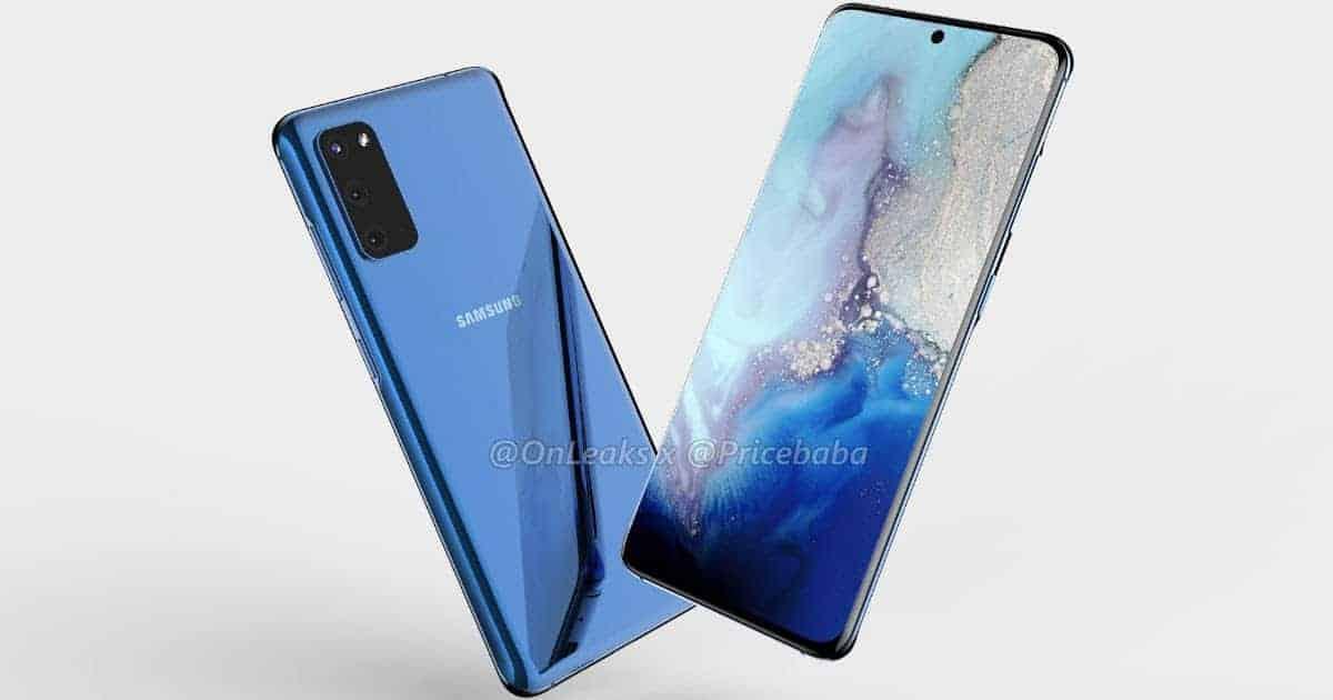 Samsung Galaxy S11e render OnLeaks 17